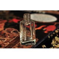China 8ml Twisted Glass Clear Roll On Perfume Bottle Silk Printing Eco Friendly wholesale