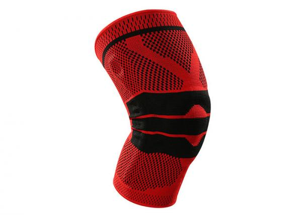 Quality Fitness Running Knee Support Brace , Elastic Gym Sport Neoprene Knee Brace for sale