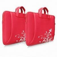 China Neoprene Laptop Bags with Handle, Customized Logos and Designs are Accepted wholesale
