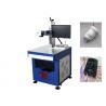 China Maquinaria plástica do plástico da impressão de laser do CE da máquina da marcação do laser da fibra wholesale