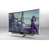 "China 65 "" A grade UHD Sound Bar Curved LED TV Aluminium alloy 3840x2160 Resolution wholesale"