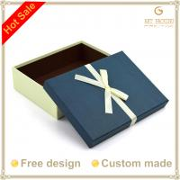 China Paperboard boxes with silk ribbon wholesale