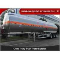 China 3 Axles 45000-50000 Litres 4 Compartment Fuel Tank Semi Trailer  For  Sale wholesale