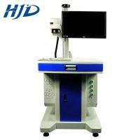 China Metal And Plastic Laser Marking Machine With Stainless Steel Engraving Pulse on sale