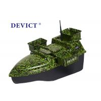China Radio Controlled Bait Boat DEVC-208 camouflage remote frequency 2.4GHz wholesale