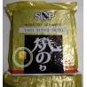 China Yaki Sushi Nori Seaweed Sheets Roasted Seasoned Seaweed Chips Dark Green Color wholesale
