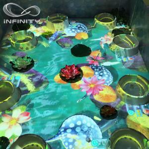 China Children Playground 3D Interactive Floor Projector , Infinity Interactive Floor Projection System on sale