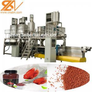 China Pet Fish Feed Extruder Machine Production Line , Dog Food Extrusion Machine on sale