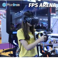 China Sheet Metal FPS Arena 9D Virtual Reality Simulator For Middle Age And Family wholesale