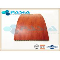 China Fire Proof Honeycomb Wall Panels With HPL High Pressure Laminate Partition Use wholesale