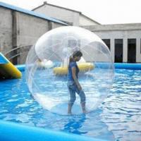 China Inflatable Beach Ball, Made of 100% PVC and 0.8mm TPU, Thickness of 1.0mm wholesale