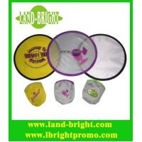 China foldable nylon frisbee on sale