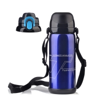 China BSCI Double Wall SUS 201 Thermos Vacuum Insulated Bottle wholesale