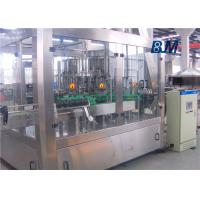 China Juice / Tea / Beverage Rinsing Filling Capping Machine With Touch Screen wholesale