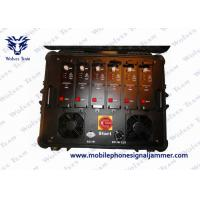 China High Power Portable Multi Band VHF UHF Jammer for Military and VIP Vehicle Convoy Protection wholesale