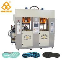Static Type Double Stations TPR Sole Making Machines Two Injector 70-100 Pairs Per Hour