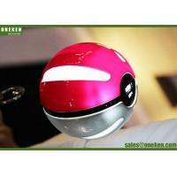 China Pokeball  Game Cosplay LED Quick Magic Ball Power Bank for Cellphones 10000mAh wholesale