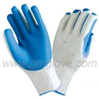 China rubber coated work gloves, Heavy Duty wholesale