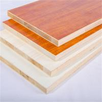 China Melamine Faced 18mm Laminated Block Board For Furniture And Decoration wholesale