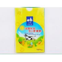 China Stationery Products Id Tag Holder , Retractable Name Badge Holders With Clips  wholesale