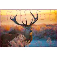 China Educational Kids  3D Puzzle Games / 3D Lenticular Printing Jigsaw Puzzles/ Custom 3D Lenticular PET Puzzles wholesale