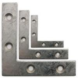 China Polished Small Metal Angle Brackets Auto Use Anti Corrosion 0.15mm Thickness wholesale