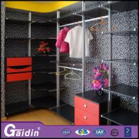 China Modern household online furniture stores luxury walk in wardrobe pole system wholesale