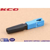 Buy cheap FTTH Solution Product SC /UPC Fast Quick connector 2.0MM 3.0MM from wholesalers
