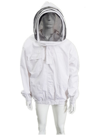 Quality Bee Jacket with Zippered Hood Beekeepers Protective Clothing S-2XL for sale