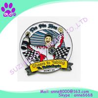 Buy cheap Promotion custom make pin,Made in china cheap metal custom lapel pin no mininum order from wholesalers