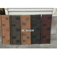 China Aluminum-zinc Material and Bent Tiles Type shingle stone coated steel roof sheet wholesale