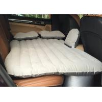 China High Comfort Inflatable Car Bed Flock / Nylon Fabric CGS Certification wholesale