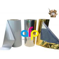 China Various Color Metalized Polyester Film For Lamination 180 - 1300mm Roll Width wholesale