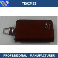 China Brand Deluxe Mazda Ring Remote Leather Key Holder For Multiple Keys wholesale