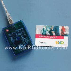 China CR608B SRI4k SRI512 SR176 13.56 Mhz RFID Reader USB / Rs232 interface on sale