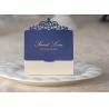 Laser Cut Eco Friendly Wedding Candy Boxes  8.5*7.5*3.5cm Wedding Decoration