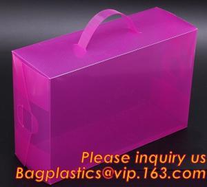 China Electric product vinyl ear phone black paper box , plastic box, pvc plastic box transparent plastic shoe box clear plast on sale
