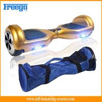 China Gold Sports Entertainment Self Balancing Scooter Segway Hover Wheel Board wholesale