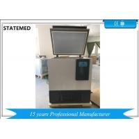 China -86 Degrees 128L Capacity Laboratory Deep Freezer With CFC Free Chest Type wholesale