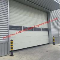 China PU Foaming Automatic Handle Industrial Garage Doors EPS Sandwich Panel Lifting Door For Workshop wholesale