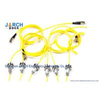 China Multi mode Fiber Optic Rotary Joint For Undersea Robot and Control Ship , SMA Rotary Joint wholesale