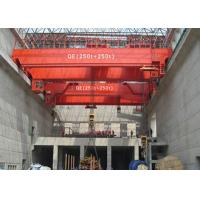 China Strong Electric Double Girder Overhead Crane QD Type 5~500T Independent Hydraulic Brake wholesale