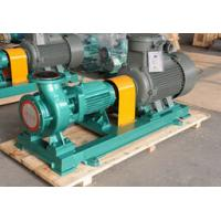 China Sulphuric Acid Resistant Centrifugal Pump End Suction , Fluoroplastic Alloy Pumps on sale