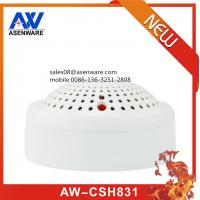 China 9-28V wide range 2 line wired smoke and heat detector wholesale