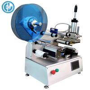 China Semi Auto Bottle Labeling Machine , Adhesive Manual Label Applicator on sale