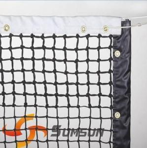 China tennis net/tennis court netting/3.5mm polyethylene wholesale
