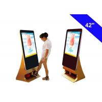 China Shoes Polish Commercial LCD Display Kiosk Totem Indoor Advertising Digital Signage wholesale
