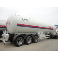 China Factory direct sale CLW brand bulk lpg gas transported tank, China famous 56m3 propane gas tank semitrailer for sale wholesale