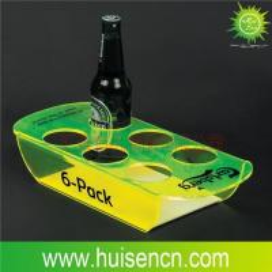 Acrylic beer tray