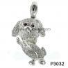 Black Sapphire 925 Silver Gemstone Jewelry , Rhodolit Gemstone Jewelry Pendant
